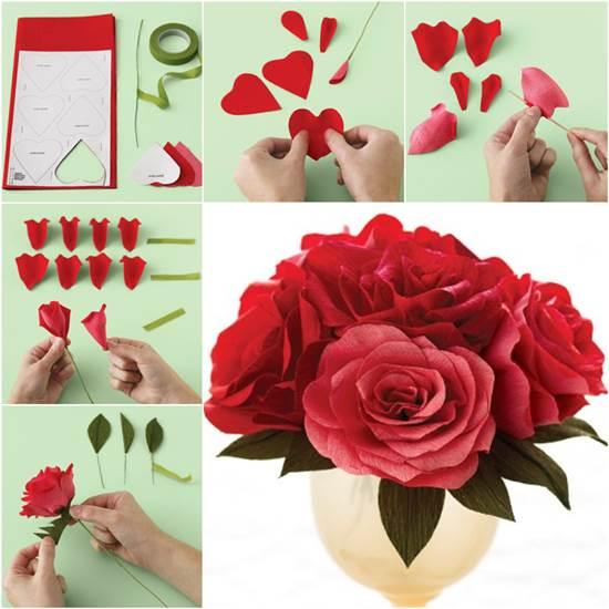 Martha stewart weddings how to make crepe paper flowers tissue paper flowers martha stewart mightylinksfo