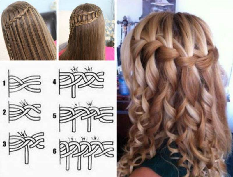 Marriage hairstyle step by step